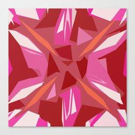 Abstract Rubi Canvas Print