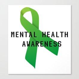 Mental Health Awareness Canvas Print