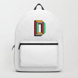 Letter D Backpack
