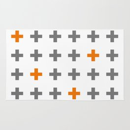 Swiss cross / plus sign Rug