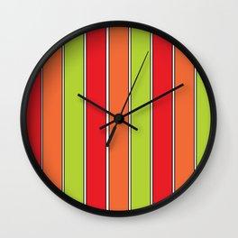 Stripe 3 Wall Clock