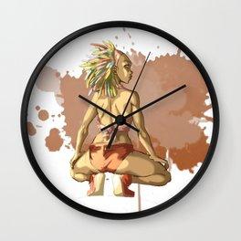 Reggaeton Girl Wall Clock