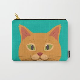 Peeking Cat Carry-All Pouch
