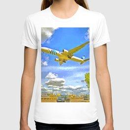 Airliner Pop Art T-shirt