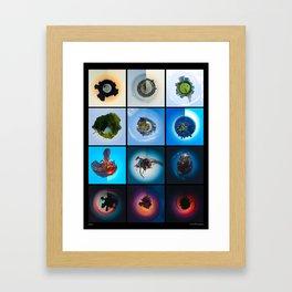 Realms Framed Art Print