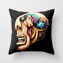 Freaky Throw Pillow