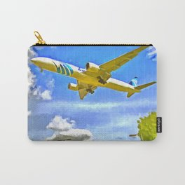 Airliner Pop Art Carry-All Pouch