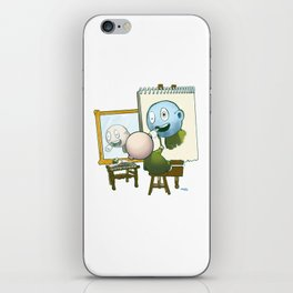 Baby Norman Zombiewell iPhone Skin