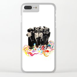 We are all cool though! Clear iPhone Case