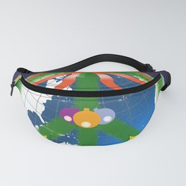 Peace on Earth Fanny Pack
