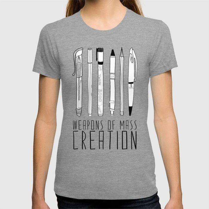 weapons of mass creation T-shirt