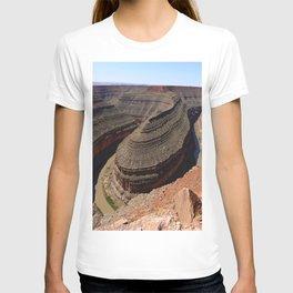 A Meander Of The Goosenecks T-shirt