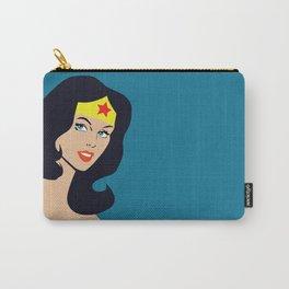 Fan art - Woman of Wonder - Superhero Carry-All Pouch
