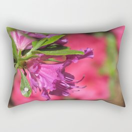 Azalea Burst Rectangular Pillow