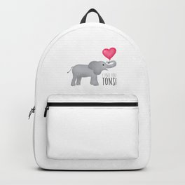 I Love You Tons! Backpack
