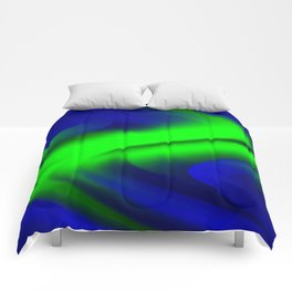 DREAM PATH (Blues & Greens) Comforters
