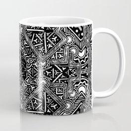 mandala mystery bw Coffee Mug