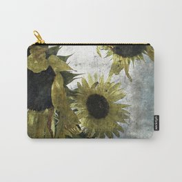 autumnal sunflowers Carry-All Pouch