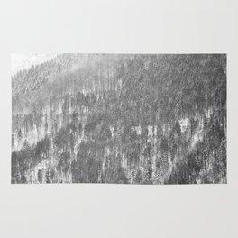 Snow landscape Rug