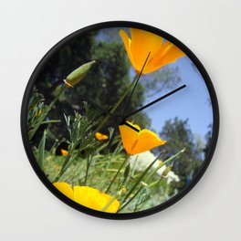 Take The Scenic Route Wall Clock