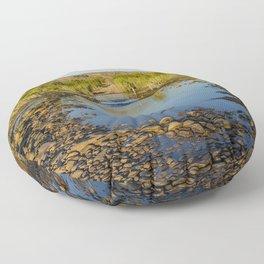 Pentecost River Crossing Floor Pillow