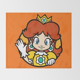 Princess of Sarasaland Throw Blanket