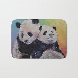 Panda Hugs Bath Mat