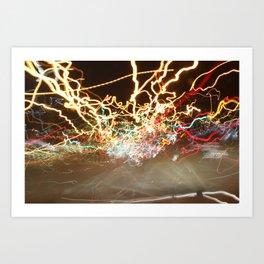 Camera Art (1) Art Print