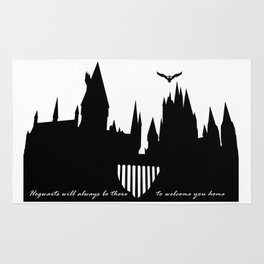Hogwarts Is Our Home  Rug