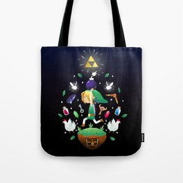 The Hero Of Time Tote Bag