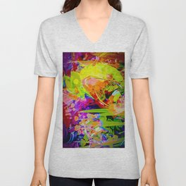 Nature Abstract 2 Unisex V-Neck