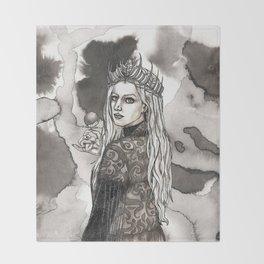 The Snow Queen Throw Blanket