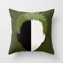 Zetsu Simplistic Face Throw Pillow