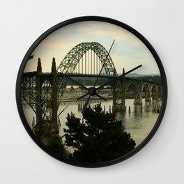 Yaquina Bay Bridge Wall Clock