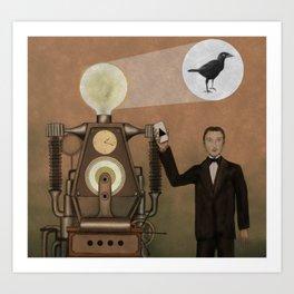 Magician and Machine Art Print