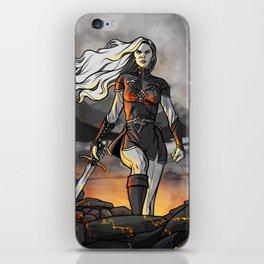 Score of Fire iPhone Skin