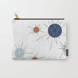 Atomic Stars Blue & Orange Carry-All Pouch