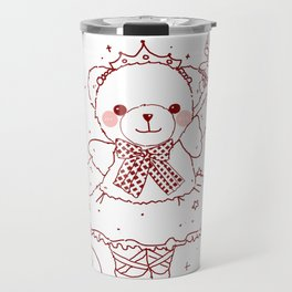 The Adventures of Bear and Baby Bear-Prima Ballerina Travel Mug