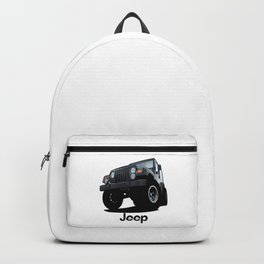 Cool Jeep adventure Backpack