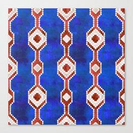 Boho Basic Eye {RWB} Canvas Print