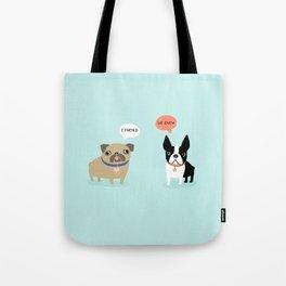 Dog Fart Tote Bag