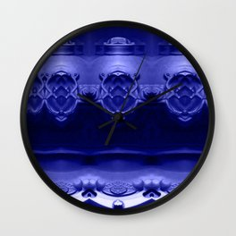 The future was already here! Ultraviolet Wall Clock