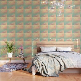 PEACH AND MINT HONEY Wallpaper