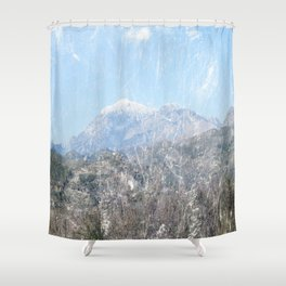 Snow-capped Mountains Shower Curtain