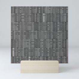 Keep Reading B&W Mini Art Print