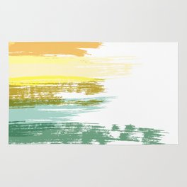 Colour Brushes Rug