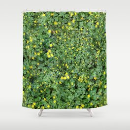 Clover Field Shower Curtain