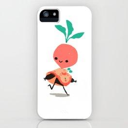 Adventurer Raphanus iPhone Case