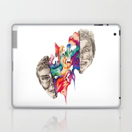 Splitting Heads Laptop & iPad Skin