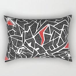 Abstract #3 Rectangular Pillow